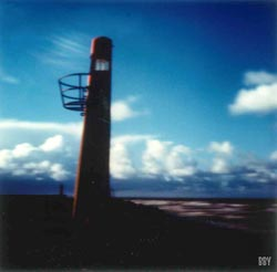 Jetée, Dunkerque, 2016, stenope, pinhole, slow photography, chambre noire, phare, lighthouse
