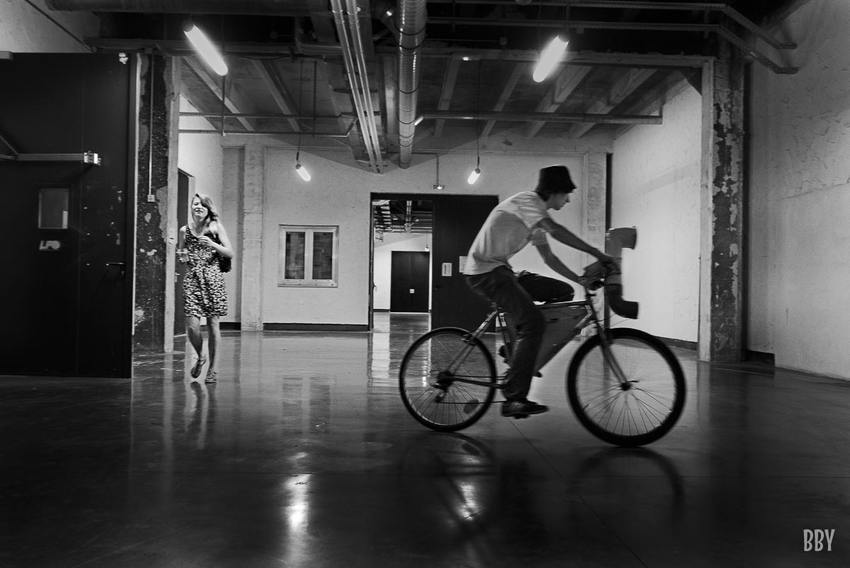 Passage non obligé, travaux photo, vehicule, vélo