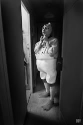 Aubagne, 2015, Deguisement, pousin, Passage non obligé, portrait, travaux photo