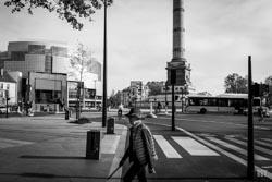 Les vélos prennent la Bastille, 2020, architecture, confinement, rue, vehicule, vélo