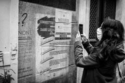Paris, 2020, confinement, grafitti