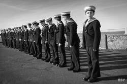 Margate, 2019, marin, militaire, mouse, enfant, navy