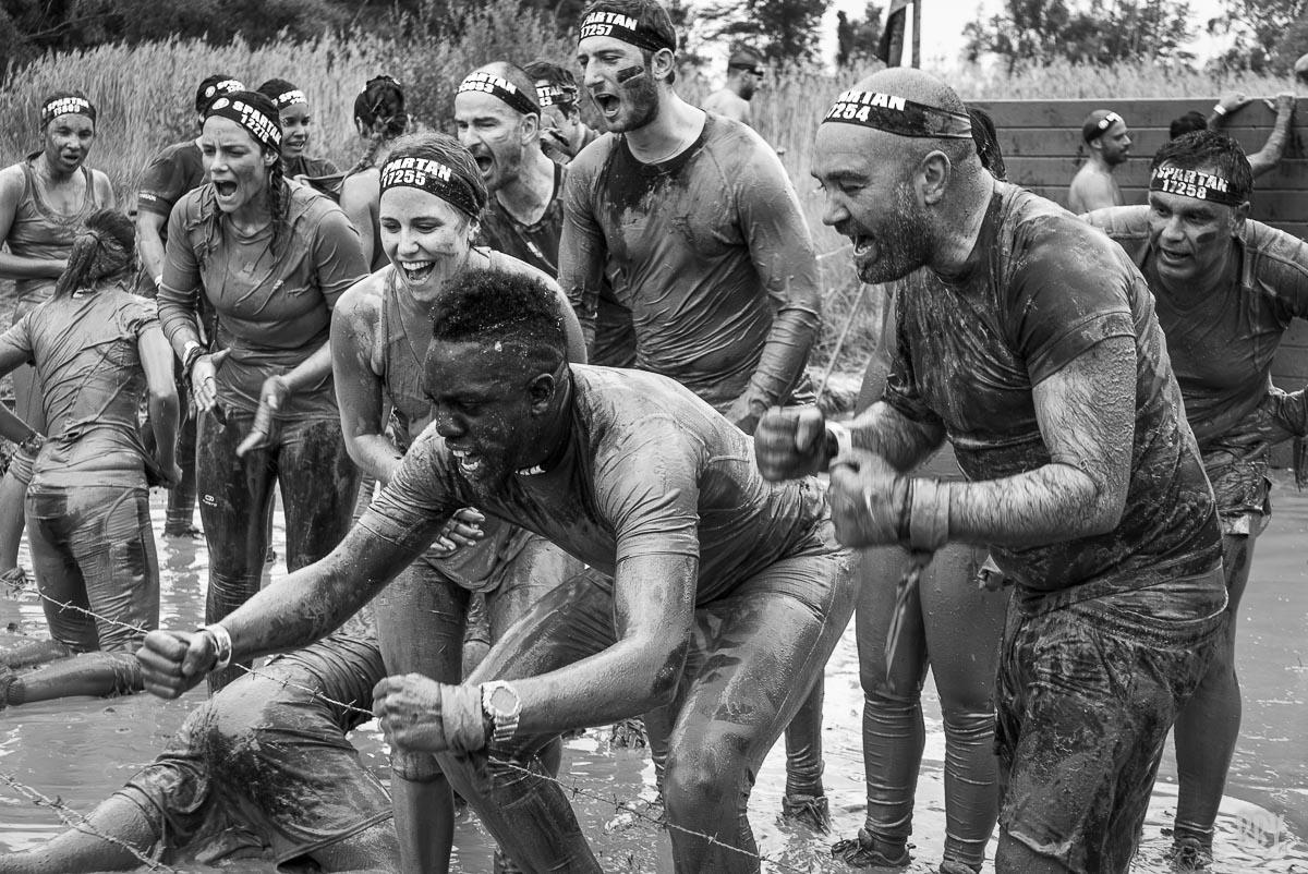 Marionnaud Spartan boue sport extrème