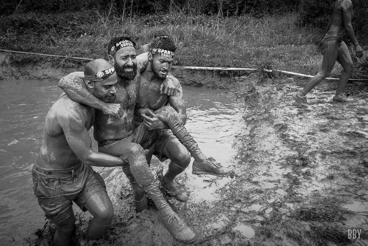 Spartan, boue, sport extrème