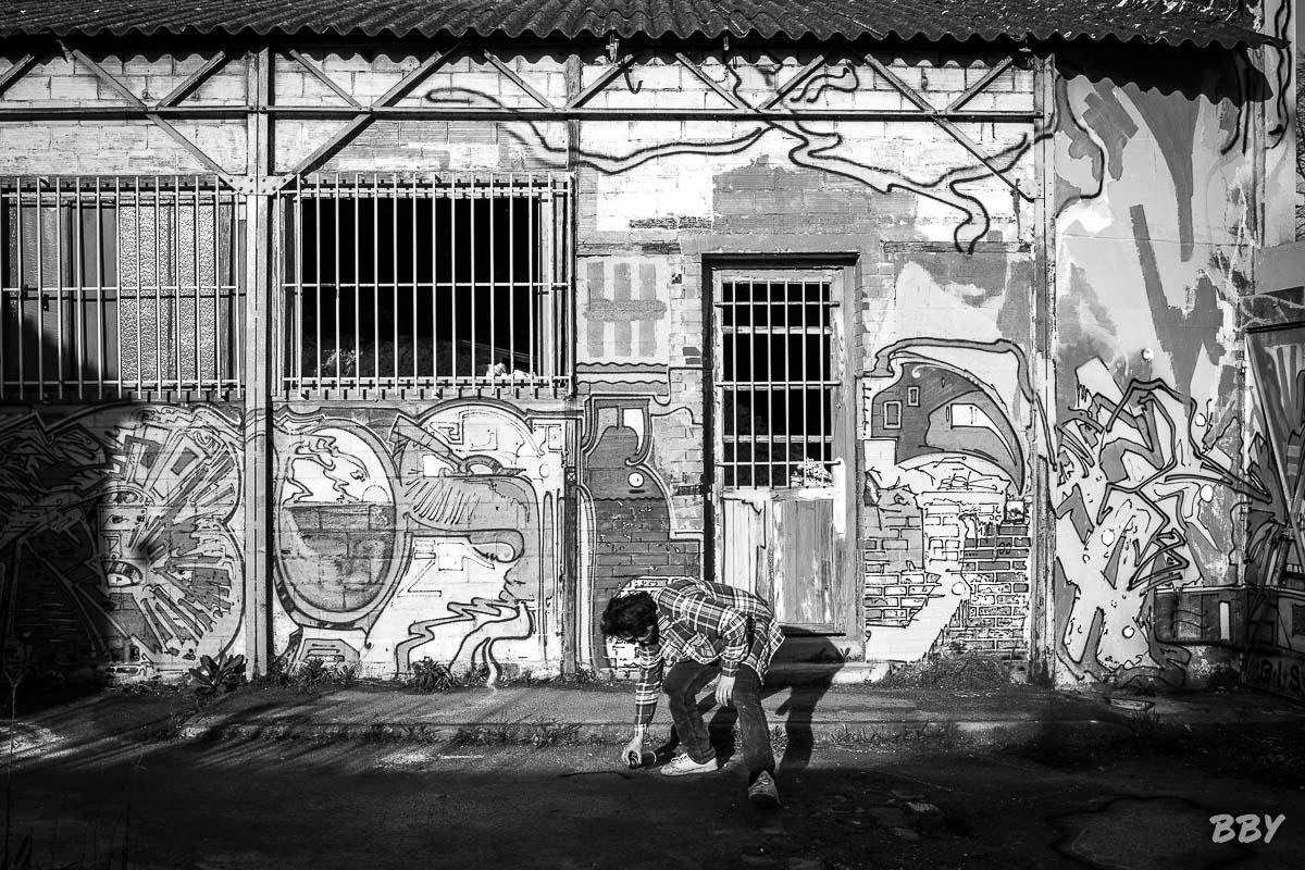 Bisk, BiskLand, Totoro, grafitti, portrait
